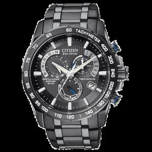 Citizen Eco-Drive Gents Perpetual Calendar A-T GMT Watch