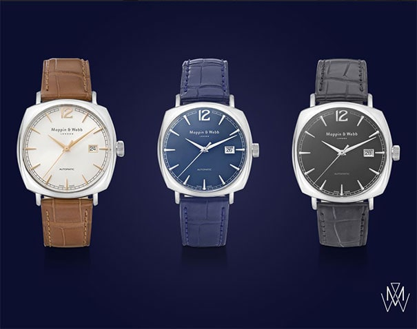 Mappin & Webb timepieces trace their lineage back to the First World War, including the stylish Clarendon Collection