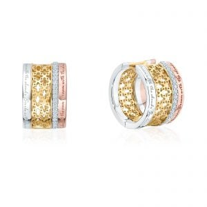 Birks at Goldsmiths this Mother's Day | Birks Muse 0.19ct Diamond Stacked Earrings