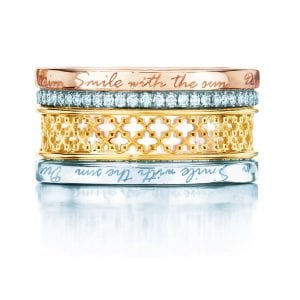 Birks at Goldsmiths this Mother's Day | Birks Muse Double Stacked Diamond Ring