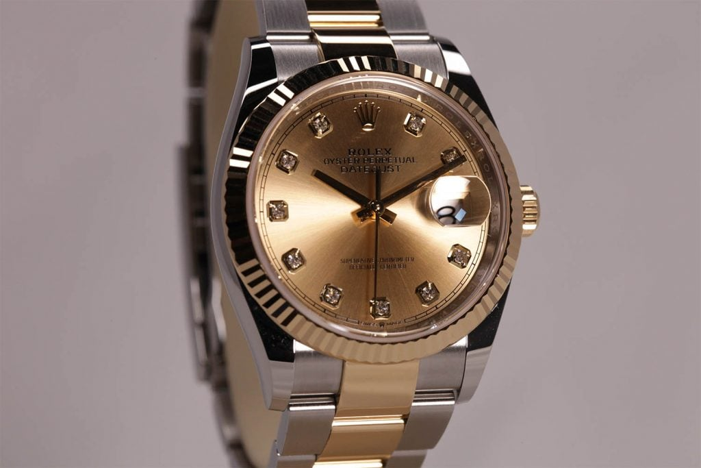 Rolex Rolex Datejust 36 in Yellow Rolesor | Goldsmiths at Baselworld 2018
