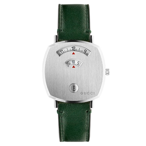 Gucci Grip Green Leather Strap